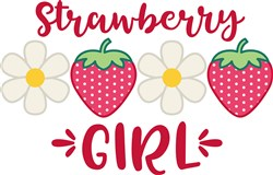 Strawberry Girl print art