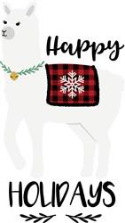 Happy Holidays print art