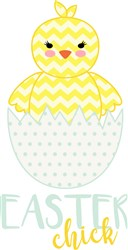 Easter Chick print art