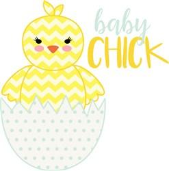 Baby Chick print art