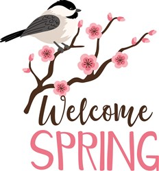 Welcome Spring print art