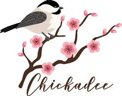 Chickadee print art