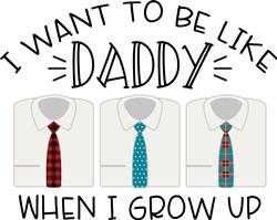 Be Like Daddy print art
