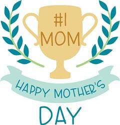 #1 Mom print art