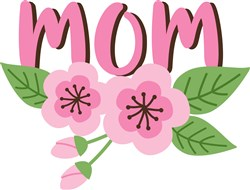 Mom Cherry Blossoms print art