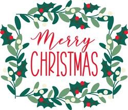 Christmas Holly print art
