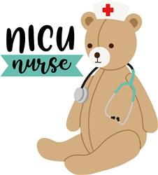 NICU Nurse print art