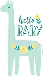 Hello Baby print art