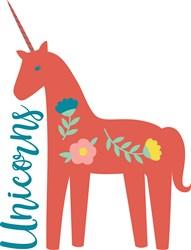 Unicorns print art