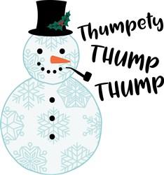 Thumpety Thump print art