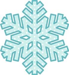 Snowflake   print art