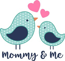 Mommy & Me print art