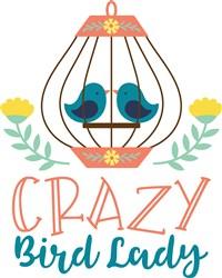 Crazy Bird Lady print art