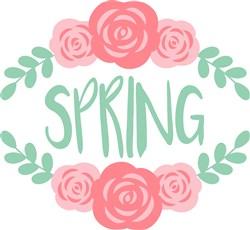 Spring Roses print art