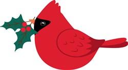 Christmas Cardinal print art