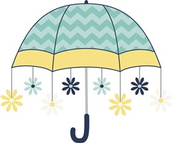 Daisy Umbrella  print art