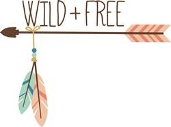 Wild & Free print art
