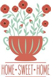 Home Sweet Home Roses print art