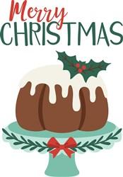 Christmas Cake print art