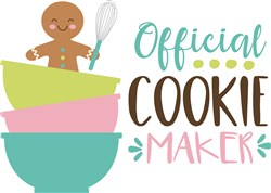 Official Cookie Maker print art