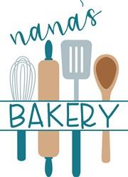 Nanas Bakery print art