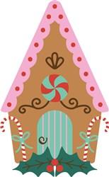 Gingerbread House print art