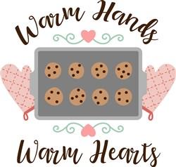 Warm Hands Warm Hearts print art