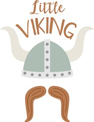 Little Viking print art