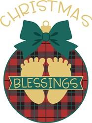 Christmas Blessings print art