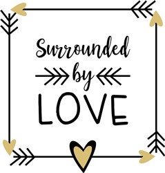 Surrounded By Love print art