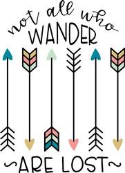 All Who Wander print art