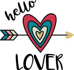 Hello Lover print art