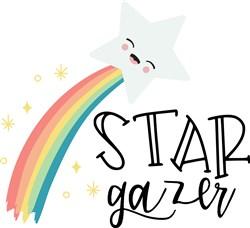Star Gazer print art