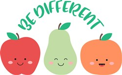 Be Different print art