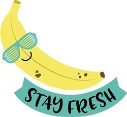 Stay Fresh Banana print art
