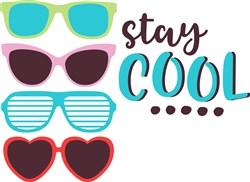 Stay Cool Sunglasses print art