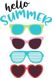Hello Summer print art