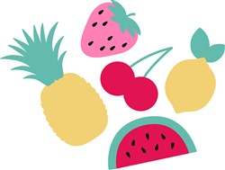 Summer Fruit print art