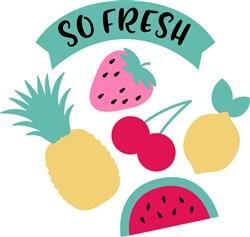 So Fresh Fruit print art