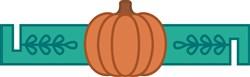 Pumpkin Napkin Ring print art