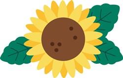 Sunflower print art