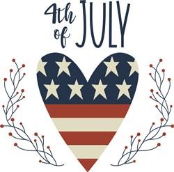 4th Of July print art