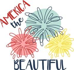 America The Beautiful print art