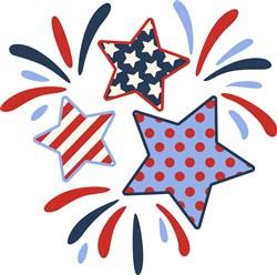 American Stars print art