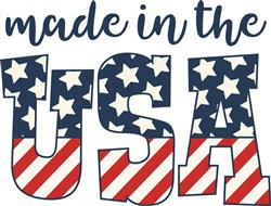 Made In USA print art