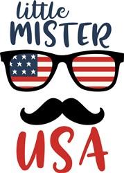 Little Mister USA print art