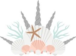 Seashell Crown print art