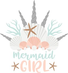 Mermaid Girl print art