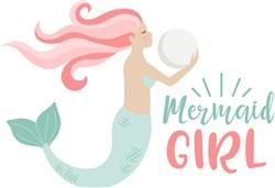 Mermaid Girl print art