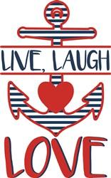 Live Laugh Love print art